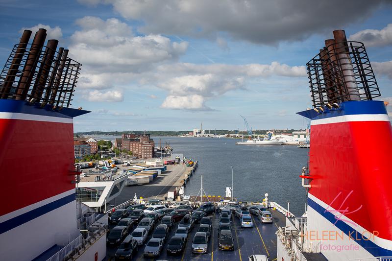 Via Kiel naar Zweden