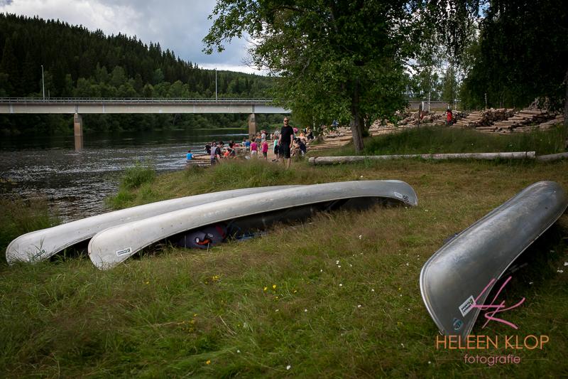 Kanoën in Zweden