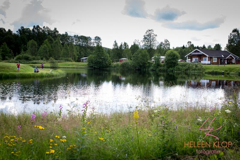 In Zweden op vakantie