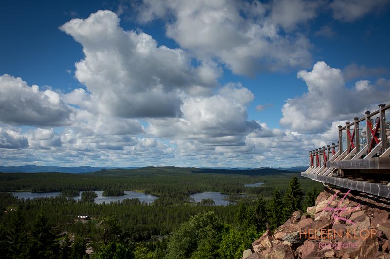 Uitzicht Orsa Zweden
