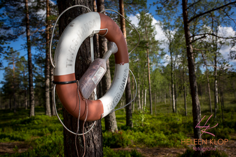 Reddingsboei Orsa Zweden