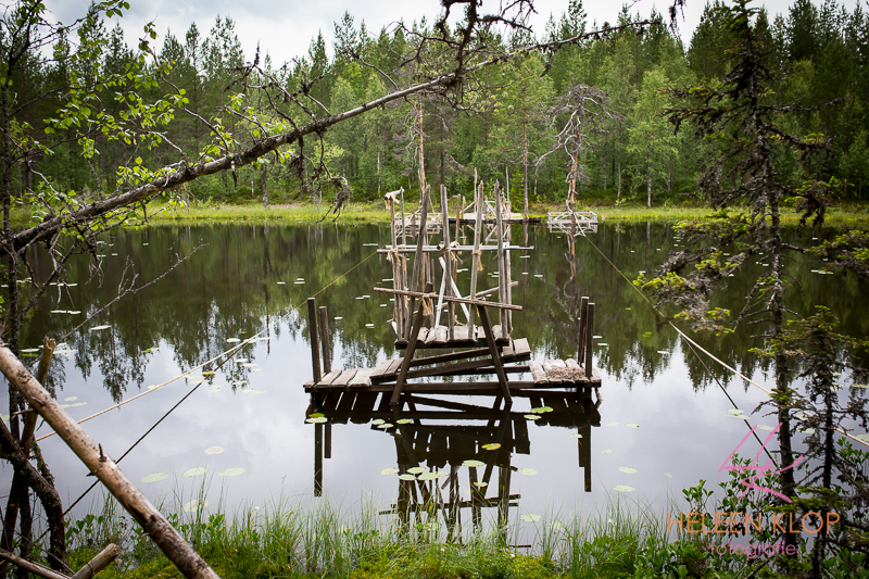 Waterpret bij Orsa Zweden