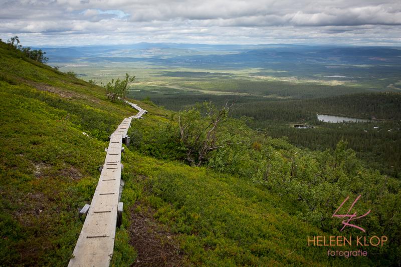 National park Sonfjäll Zweden