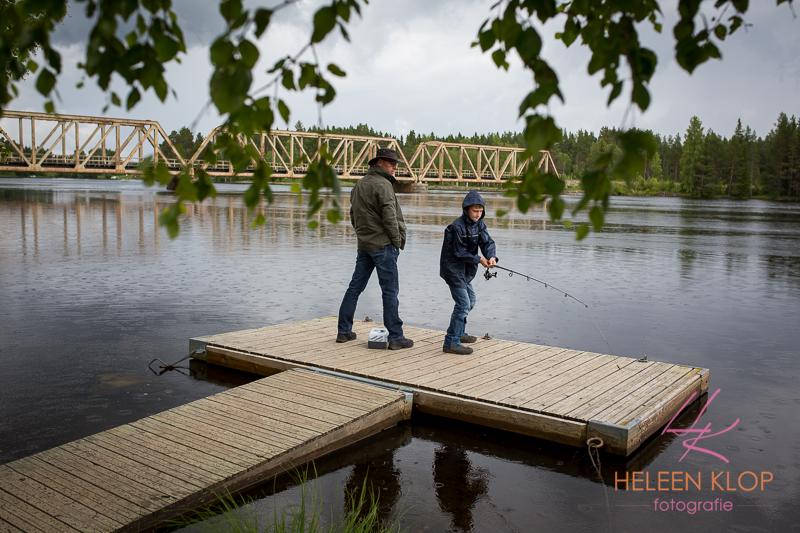 Vissen bij Lit Zweden