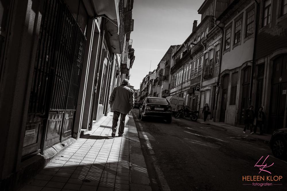 Straatjes Porto Portugal