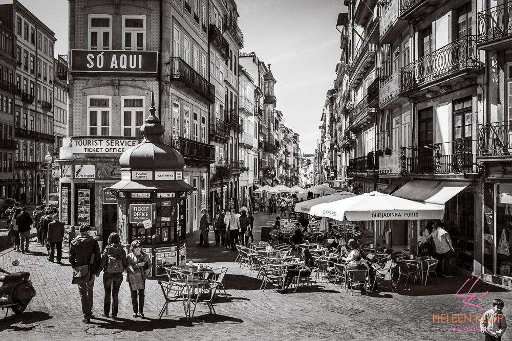 Winkelstraat Porto Portugal