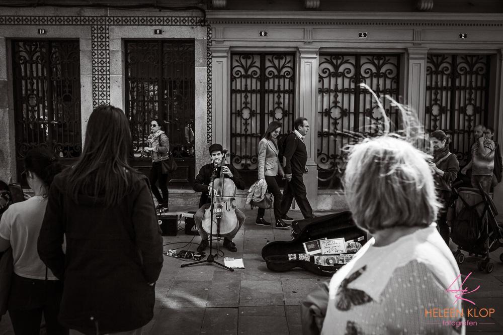 Muzikant Porto Portugal