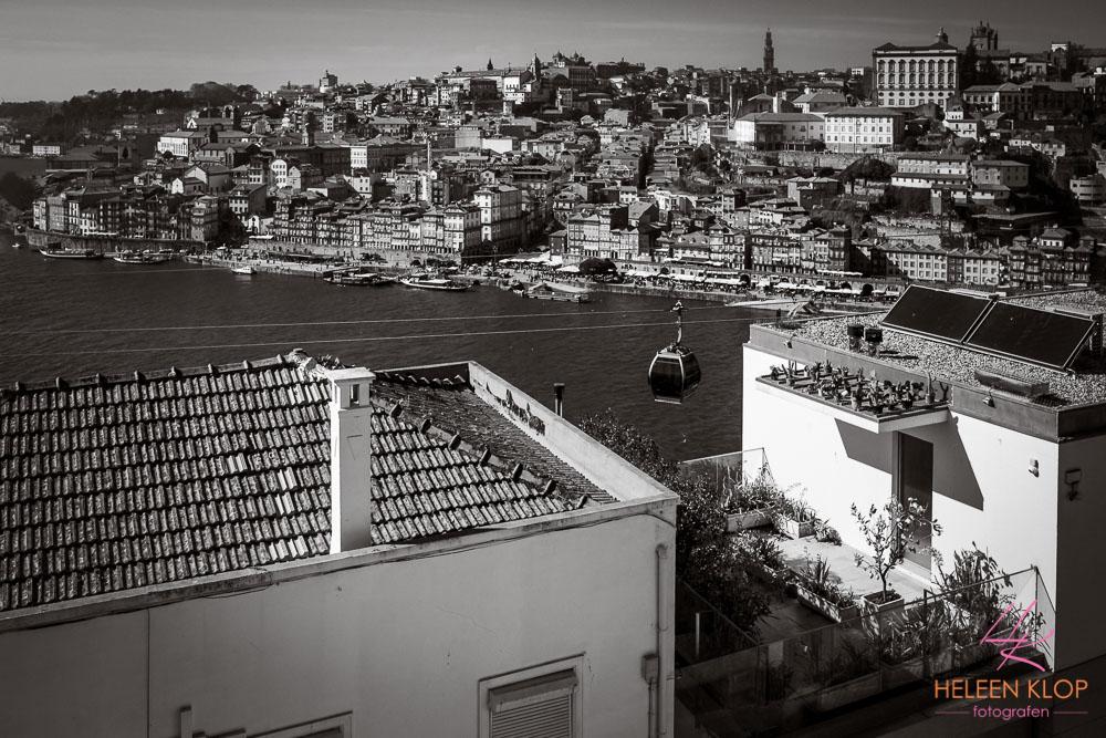 Douro gondel uitzicht Porto