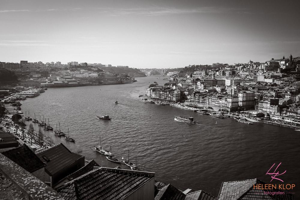 Hoog uitzicht Porto Portugal