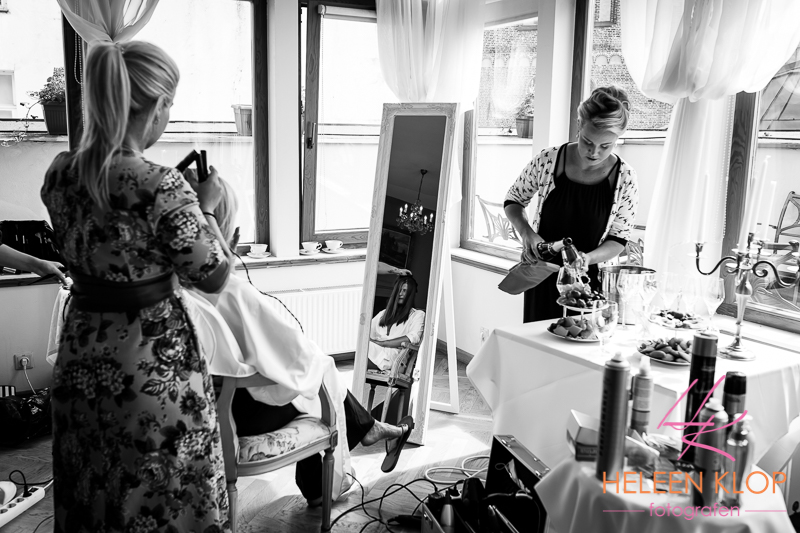 Bride Getting Ready In Riga