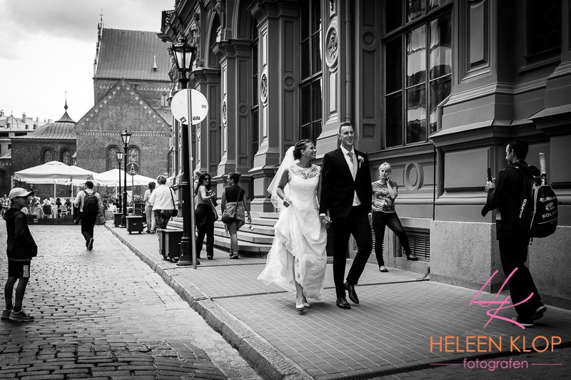 Bruiloft in Riga Letland
