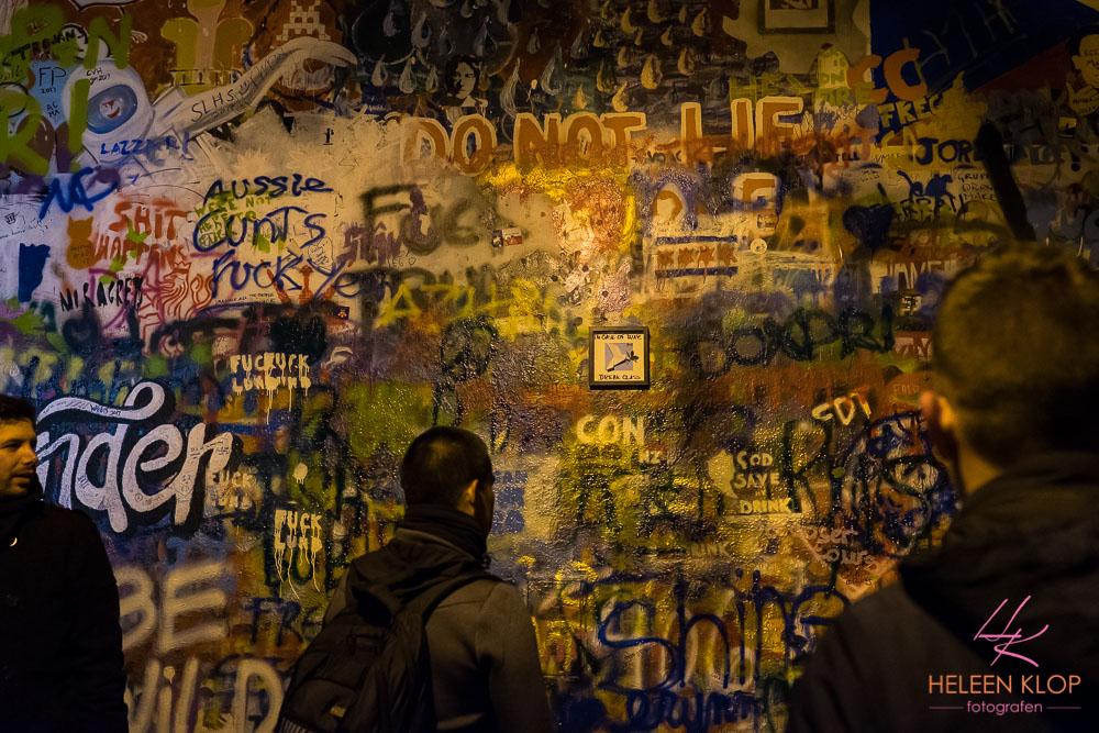 John Lennon Muur Praag