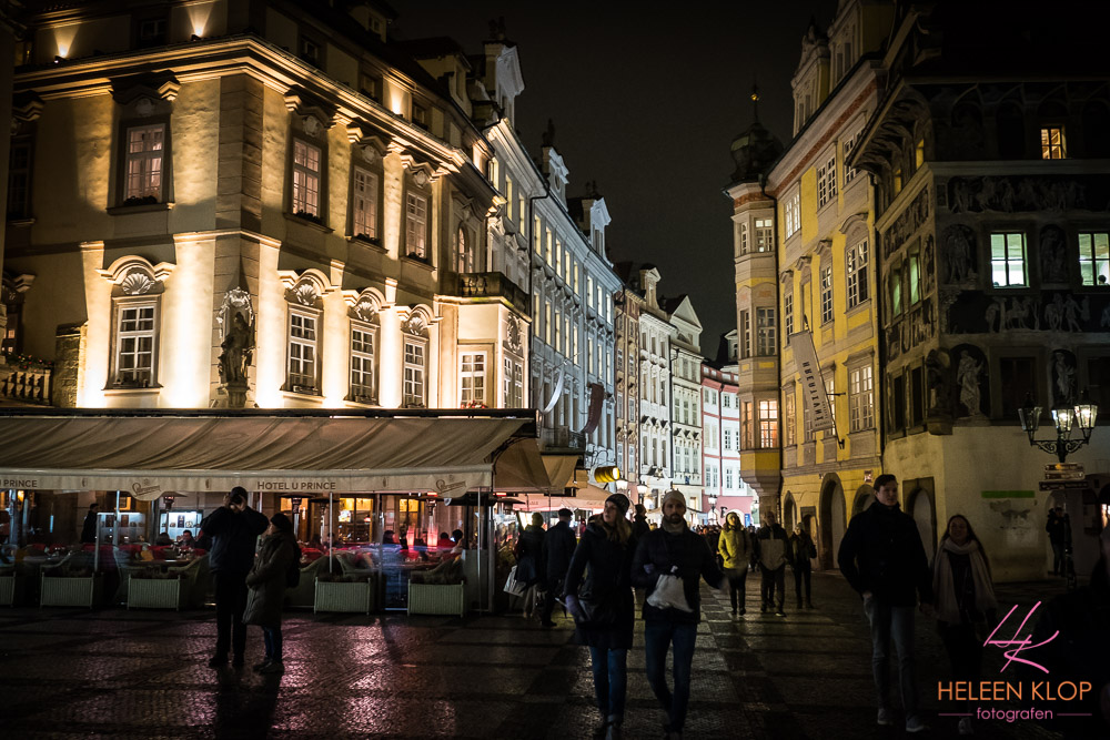 City by night Praag