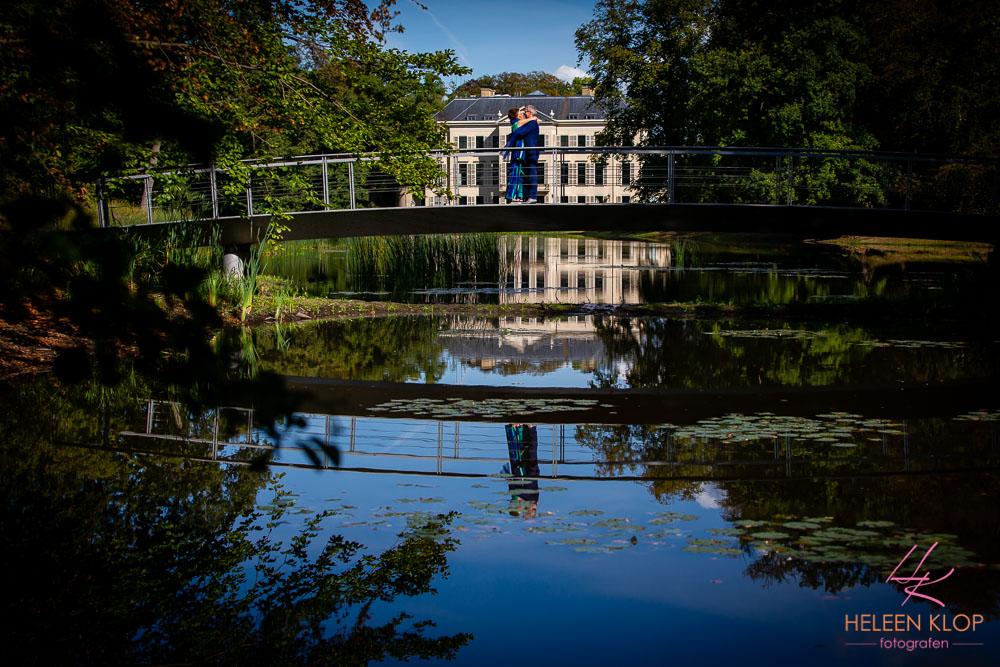 Brug in het park Broekhuizen Leersum