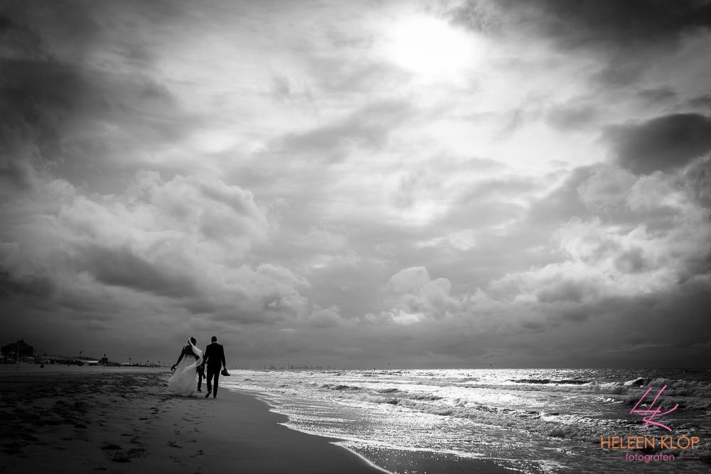 Trouwreportage op het strand