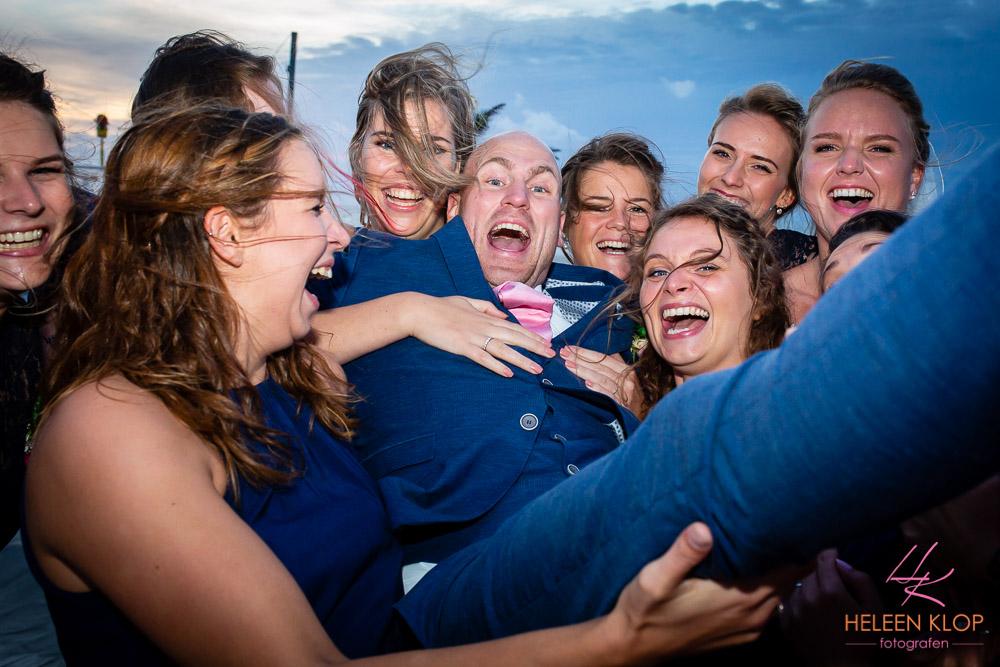 Groepsfoto met Bruidegom