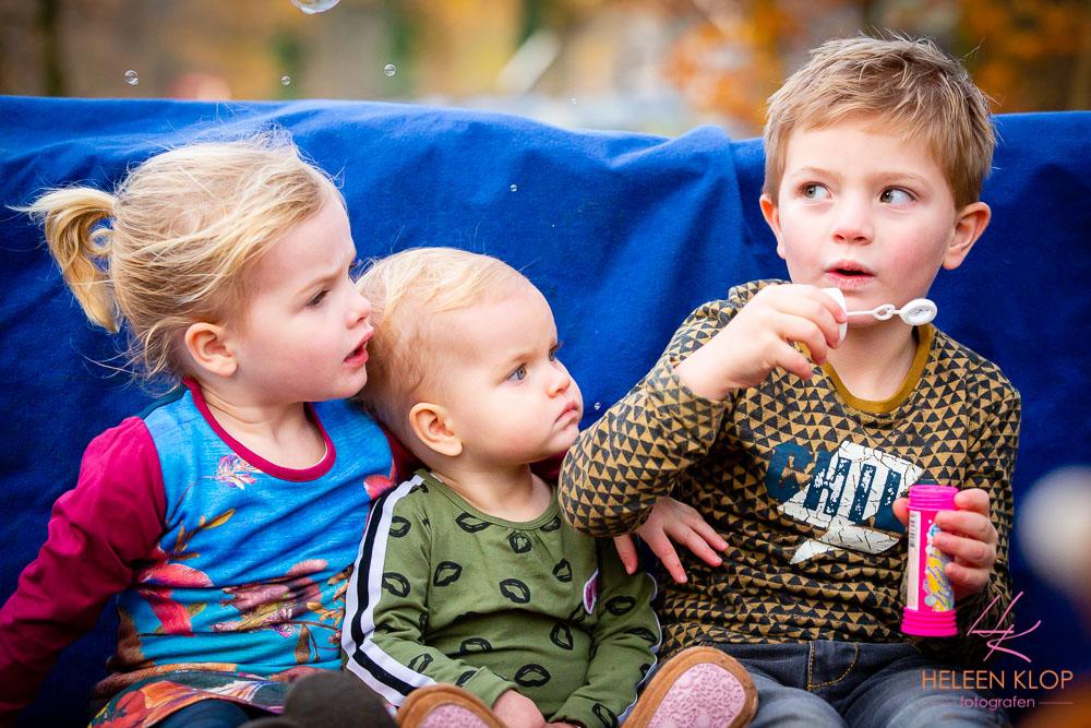 Kinderen en bubbels