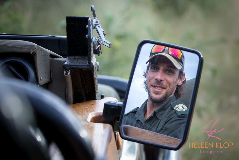 Ranger in Zuid Afrika tijdens fotosafari zuid-afrika