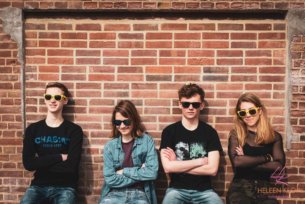 Fotoshoot voor Tieners