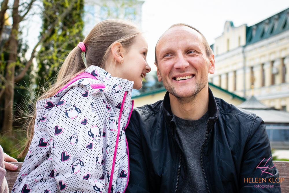 Gezinsreportage Kiev