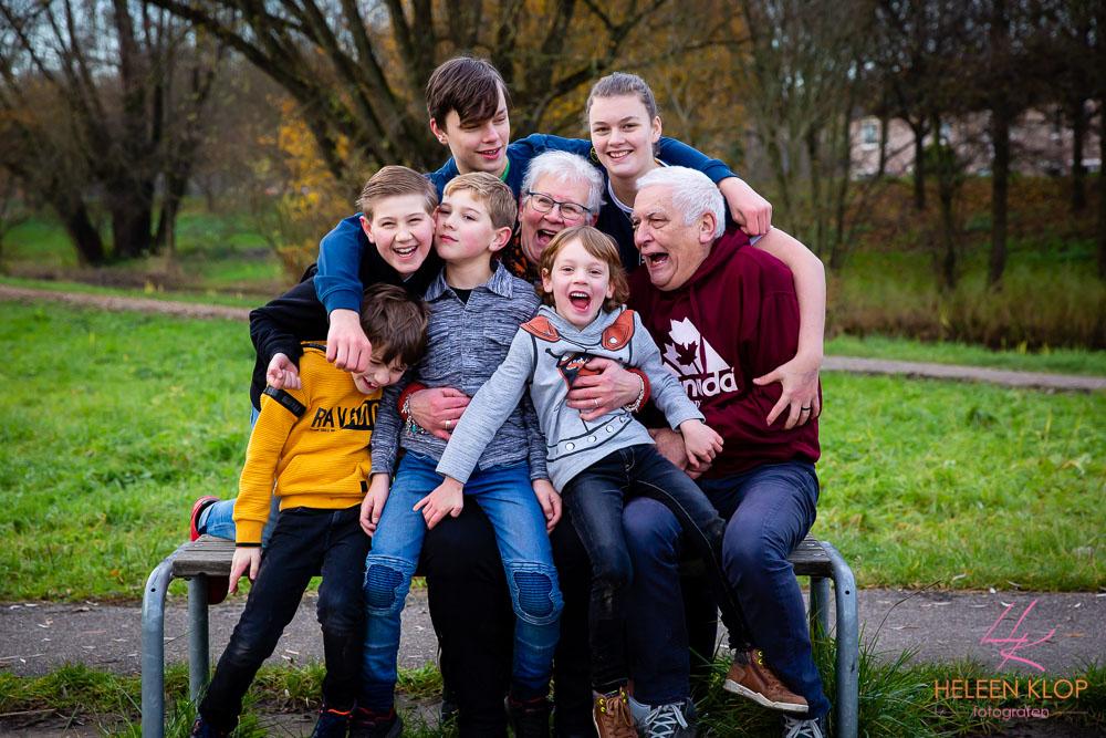 Familiereportage In Het Park