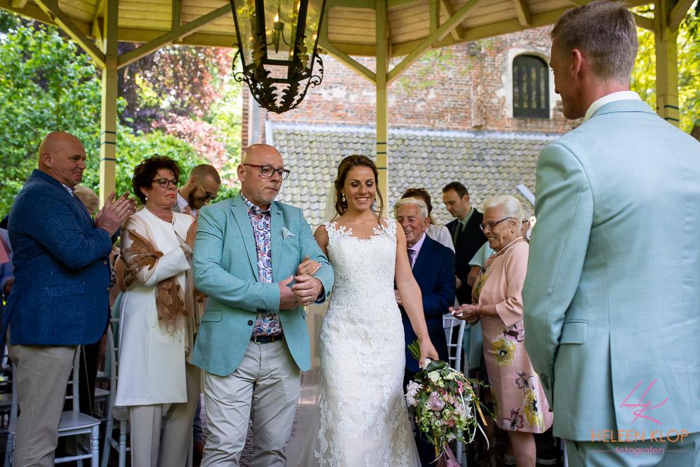 Aankomst van de bruid Kasteel Duurstede